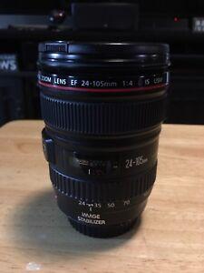 Canon 24-105L-$700 sold!!! and Canon 100L macro $900