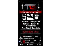 I fix all phones laptops tablets and pc's at a very reasonable price and quick turn around time