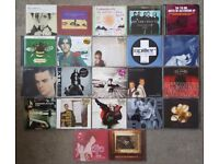 22 MUSIC CD SINGLES. VARIOUS ARTISTS.