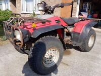 Honda Quad Trx350 4x4 with V5 - yr1989