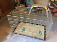 """Dog cage.....41 """" long x 26"""" wide x 28"""" high"""