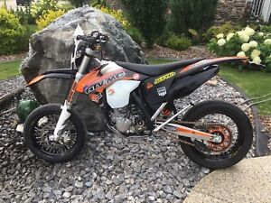 2014 Ktm 500exc Supermoto and offroad