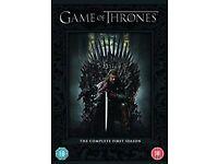 GAME OF THRONES SERIES 1 DVD BOX SET £10 ONO