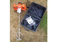 Vitrex 1400W 240V Plaster Mortar Power Mixer