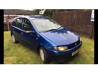 2003 Fiat Punto active 1.2 tax and tested ready to drive away