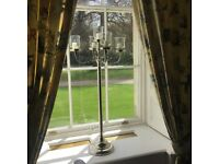 Gold Candelabras for hire Sandringham Silver candelabras for hire wedding event party engagement