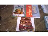 Cake and cook books