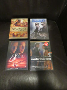 4 DVD's for $2 (as listed)