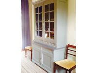 French Dresser. Solid Wood. Painted