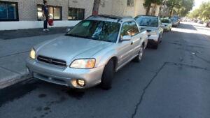 2003 Subaru Baja manuelle