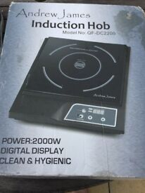 Andrew James induction hob