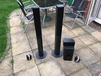 Pioneer surround sound system speakers