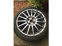 MK 2 Ford Focus ST 170 Alloys and Tyres [4]