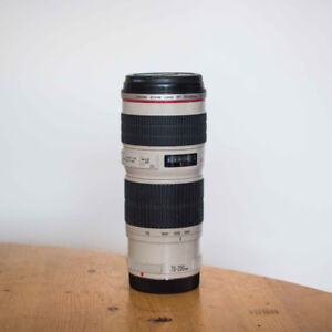 REDUCED: $500 - CANON EF 70-200mm F/4 L USM Lens