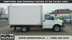 2011 GMC Savana 3500 G3500 12Ft Single Rear Wheel + Ramp