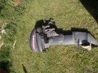 MARINER 9.9 2 STROKE TILLER CONTROL LONG SHAFT OUTBOARD MOTOR BOAT ENGINE