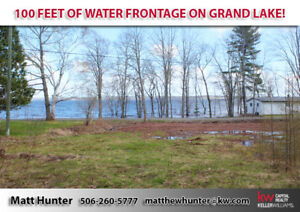 100 Feet Of Water Frontage On Grand Lake!