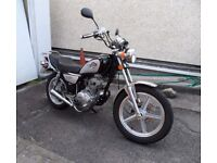 HUONIAO NH 125-8 Cruiser motorcycle. 66 plate, 800 miles. Fully serviced in excellent condition.