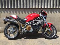 Ducati s4r monster loaded with extras