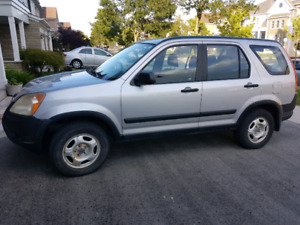 Low KM!  2002 Honda CRV for sale - $1200 as is