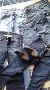 4 pairs of New Jeans (Boot Cut/Flare)