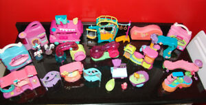 Littlest Pet Shop Play Sets Lot LPS playsets