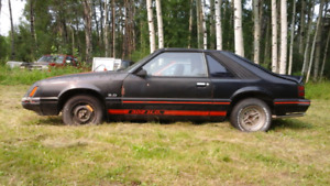 84 Mustang GT HO for only $1,000