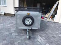 Aluminium heavy duty trailer and oztent