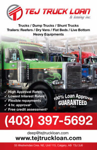 Truck and Trailer Loan ****4.9%***