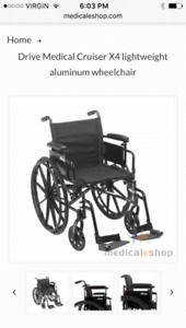 Brand New Adult Wheelchair