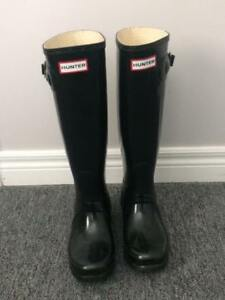 Hunter Boots Original Black Glossy