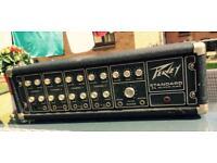1970's Peavey 260 series amp black flag