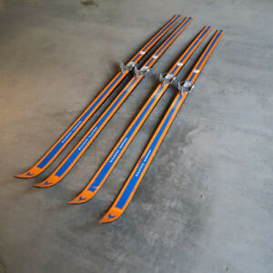 Euro Super Cross Country Skis with Retta Fella Bindings
