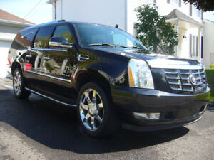 2007 Cadillac Escalade ESV ( 90400 KM ) 22980 $ + TPS +TVQ