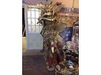 Gold exotic full size femal manniquinn artist designed