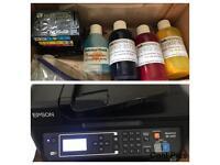 EPSON A4 Sublimation Printer Dye WF2630WF Heat Press printing