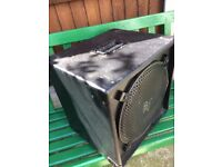 "'Bag End"" style custom 1x15 300 bass cab"
