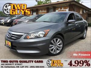 2012 Honda Accord EX-L LEATHER MOONROOF HEATED FRONT SEATS