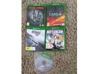 Xbox one games x 5