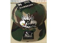 Free Delivery yo raps Starter Snap Back Cap Hat