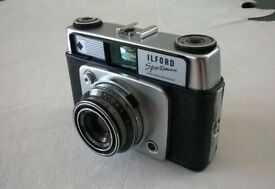 ilford sportsman ( circa 1962 ) 35 mm film camera