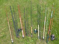 Fishing Rods, Reels etc.