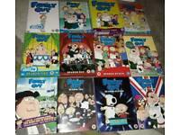 FAMILY GUY SEASONS 1-12 - DVD