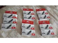 Canon Black and colour toners / cartridges 551 XL - genuine