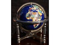 World Gemstone Globe