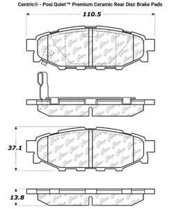 Subaru Impreza/ Forester/ Outback brake pads plaquettes frein