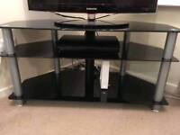 Black and Silver TV Stand £15 ONO
