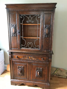 China Cabinet - Apartment-Sized - $85 OBO