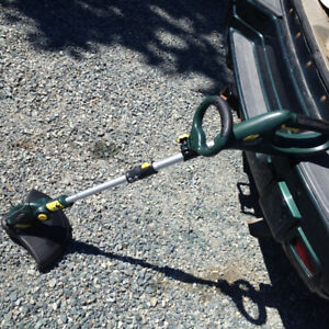 Yardworks 24V grass trimmer