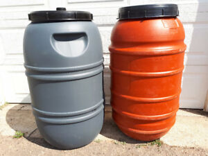 LOOK > Clean Food Grade Screw On Lid Barrels $50 ea ( Min of 2 )